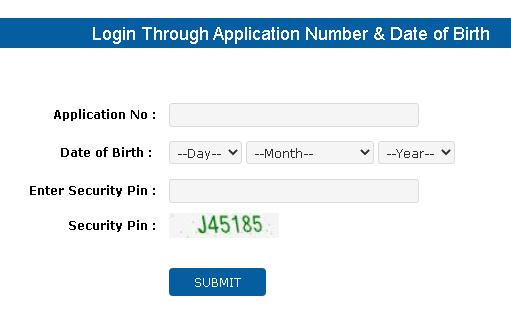 ugc net admit card download login form